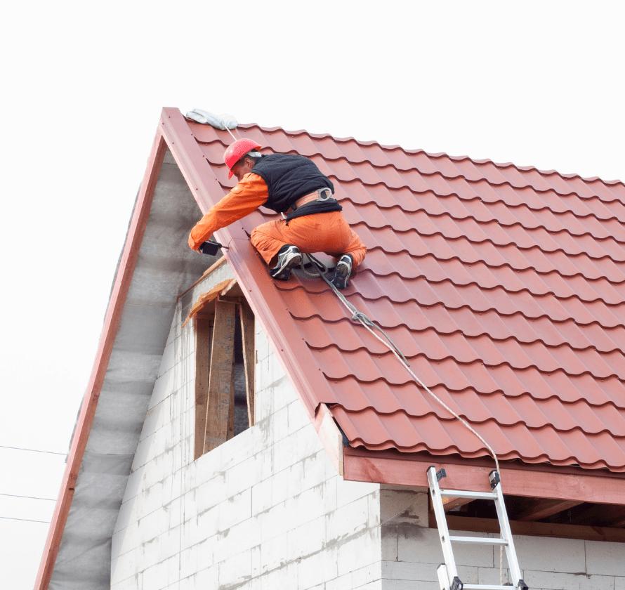 Installation fenêtre toit
